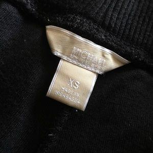 Black Suede Michael Kors Pants